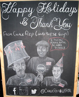 2014 Chalk Rep Holiday Party and Season Announcement